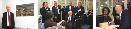 David Willetts Visit to BRL